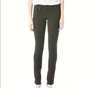 Level 99 Black Lily Skinny Straight Leg Jean